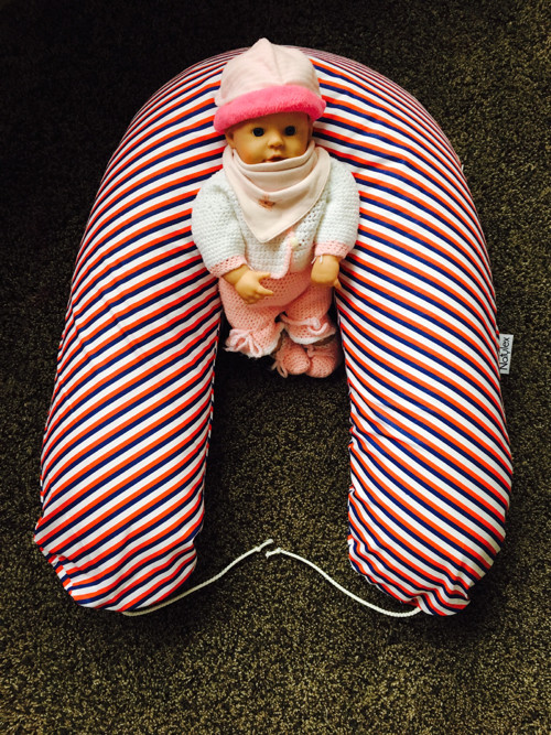 Kojící a těhotenský polštář kolekce námořník