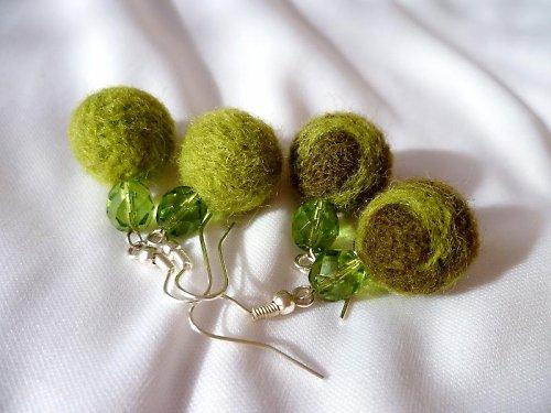 ovčinky zelené - 2 druhy (viz.další foto)