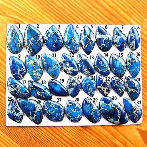 Variscit Kabošon - 1ks - Modrý