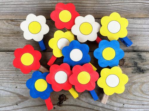 Květinkové kolíčky - sada 4 ks