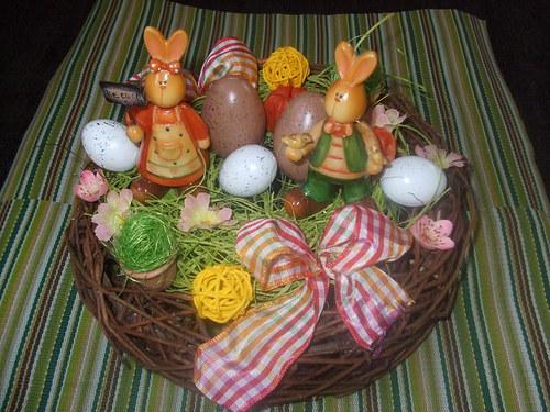 Dekorace na Velikonoce