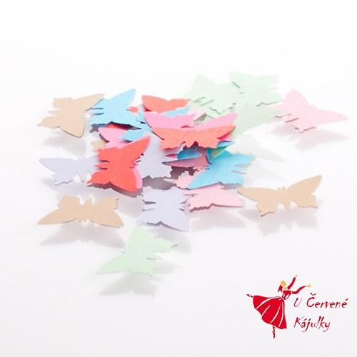Motýl (velký) - barevné výseky