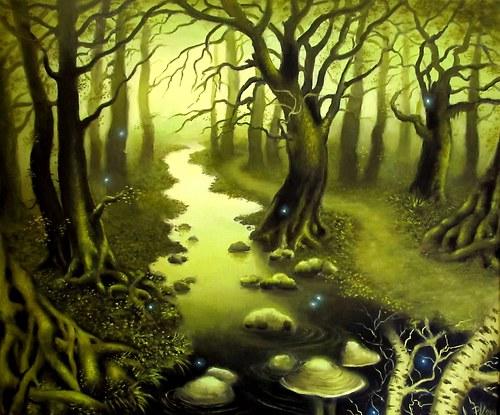 Lesní potok - PLAKÁT A3