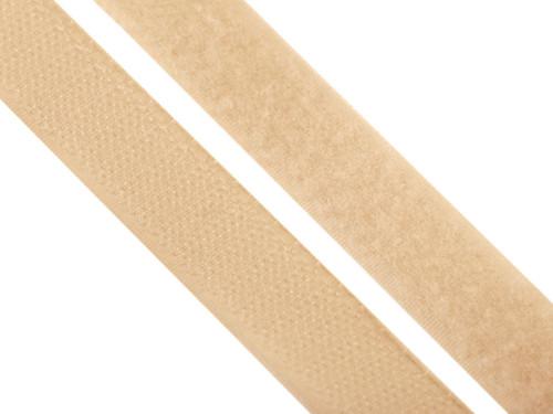 Suchý zip, 20mm, barva béžová
