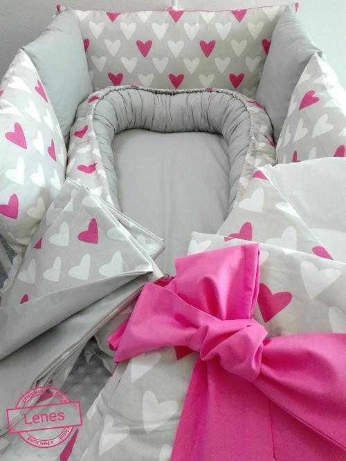 Srdíčkový komplet pro miminko