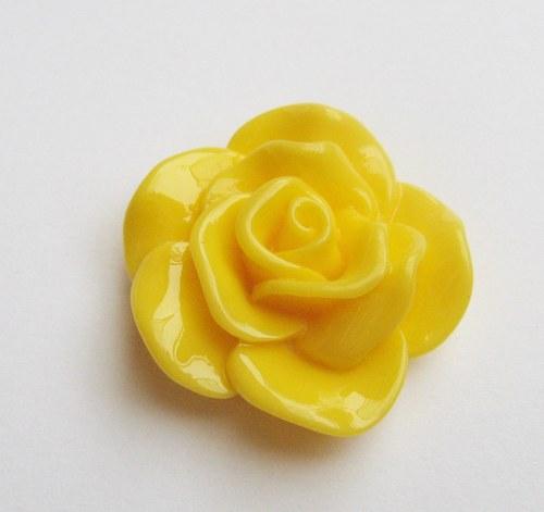 Velká růže cca 30mm - 1ks + 1 zdarma
