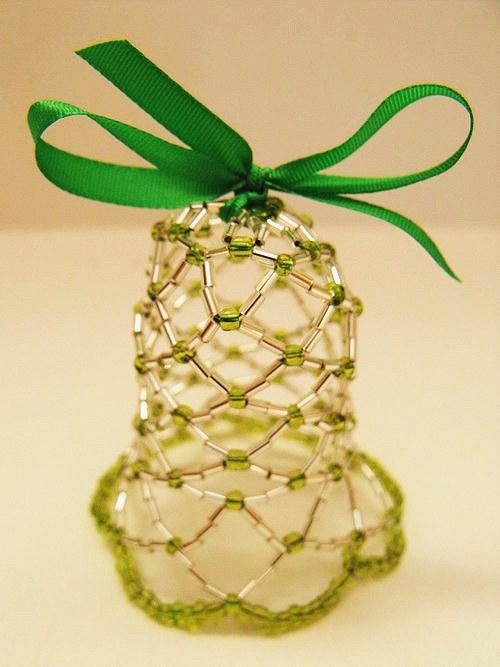 zelenostříbrný zvonek