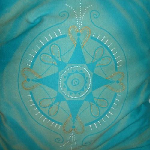 Polštářek s mandalou - Andělská náruč