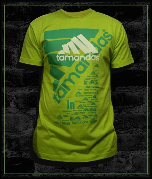 Pánské limetkové tričko Ťamandas 02