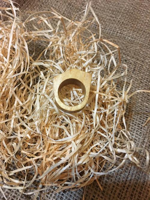 Dřevěný prsten bříza