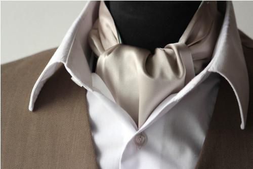 Pánský Askot Hedvábná kravata 019