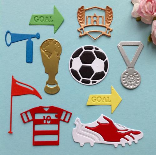 Fotbal - sada 10 ks ,barva dle přání (výsek)