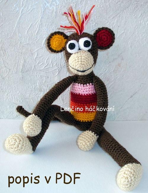 Popis na opičku
