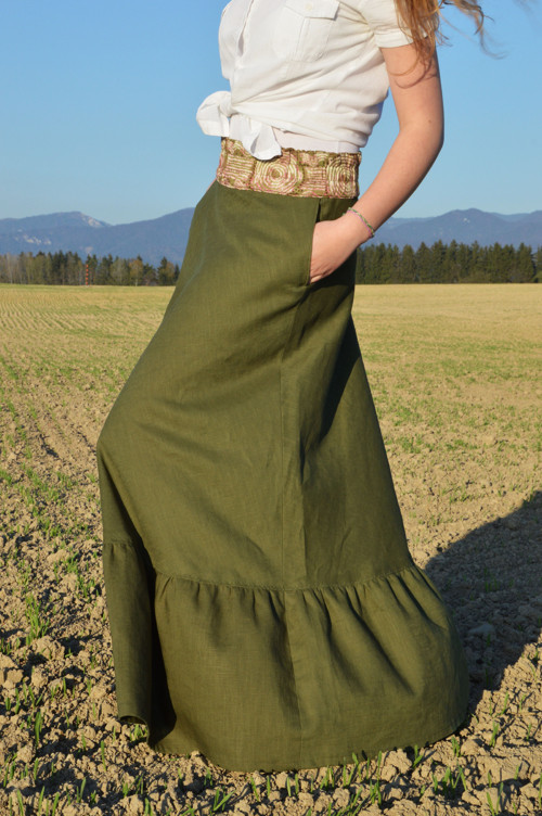 sukňa Lesia