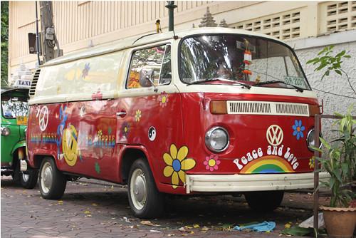 Panel 30x20cm Veselý VW Transportér
