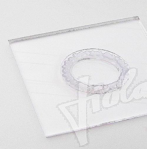 Bloček pro silikonová razítka 8 x 8 cm oblé rohy