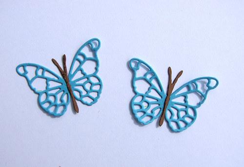 Motýl malý - 2 ks