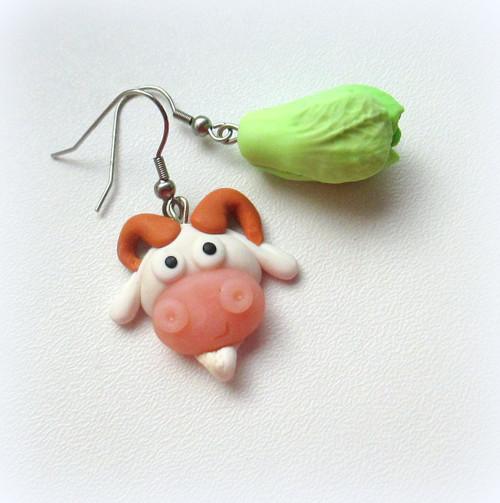 Zelí a koza