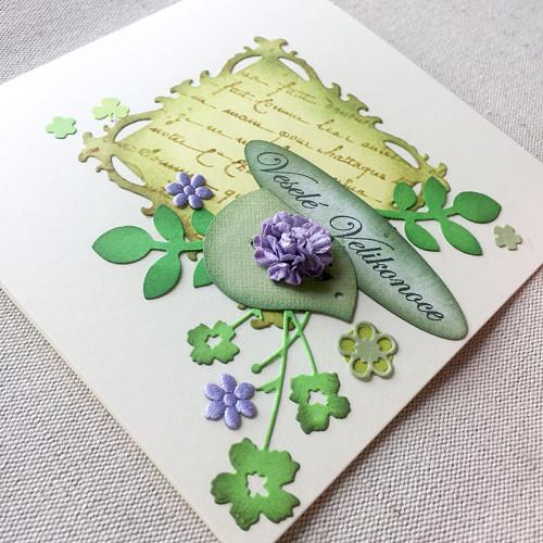 Velikonoční přáníčko s obálkou