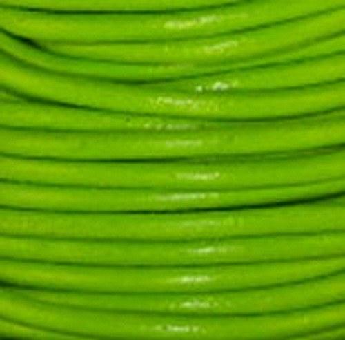 kulatá kůže zelená 1 mm