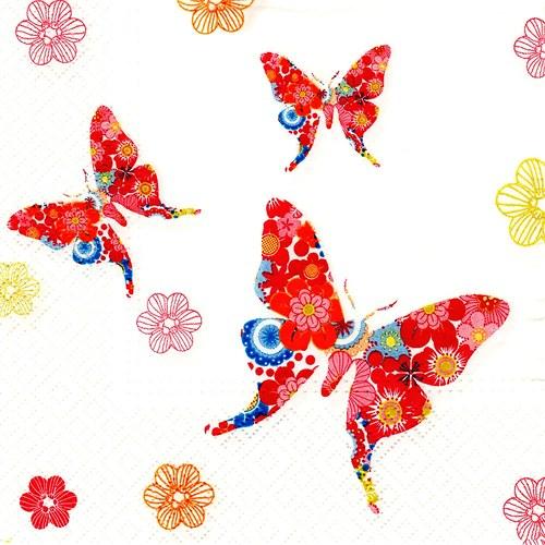Ubrousek motýlci - 1 ks