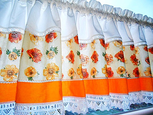 Záclonka - Oranžáda