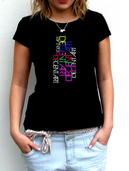 Dámské tričko ,,DECENT ART´´