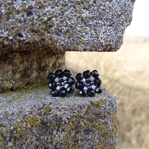 Černá s bílou - puzety