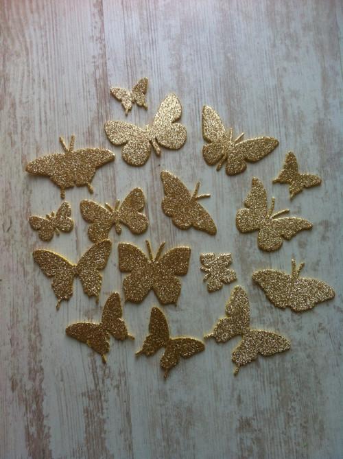 Výseky z pěnovky MSGOMA motýlci třpytiví