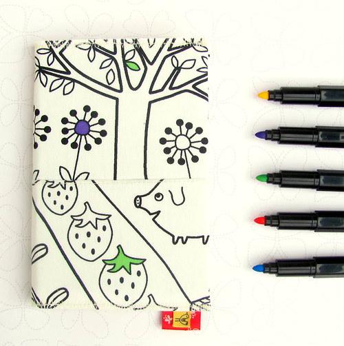 Domaluj si - zápisník