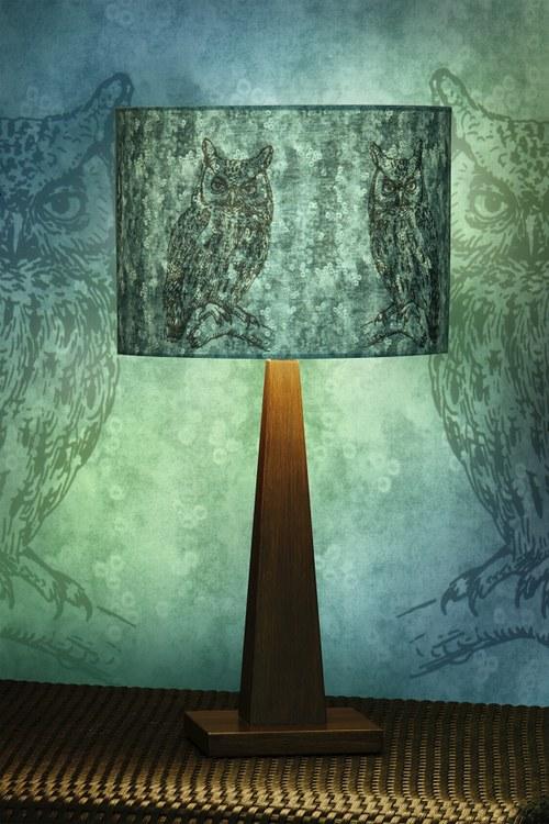 Stínítko na lampu Noční hlídka - stolní/stropní