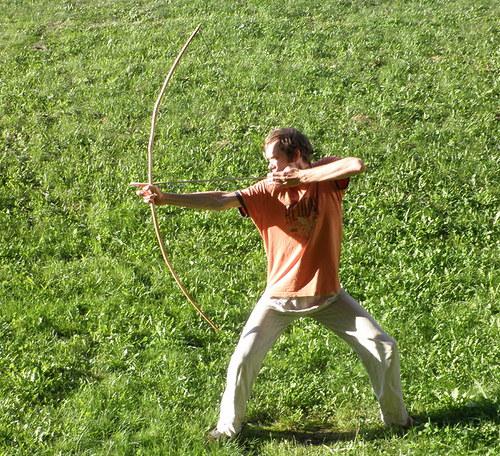 Indiánský luk - Algonkian bow