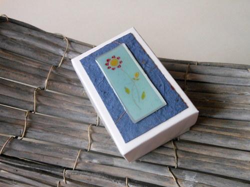 MODRÁ V MODRÉ   - mini dárková krabička
