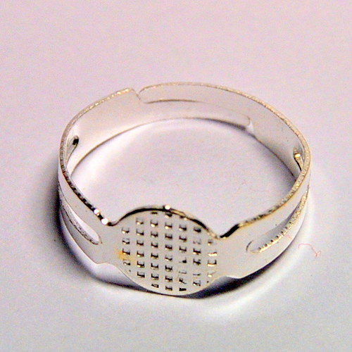 STR859/2 Prsten s  ploškou