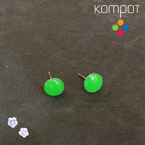 KAPKY :: neonově zelené