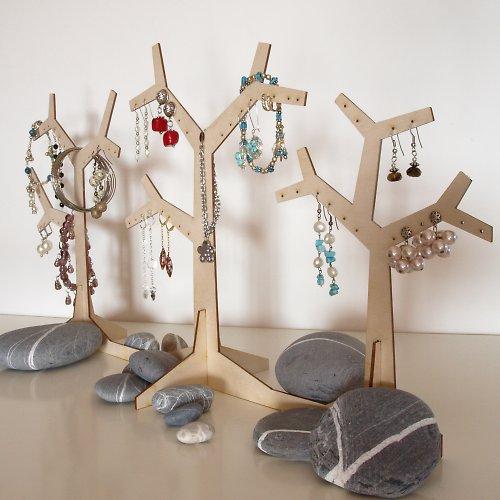 Strom - věšák na náušnice a jiné šperky