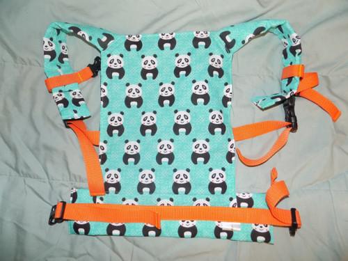 Ergonomické nosítko na panenky - pandy