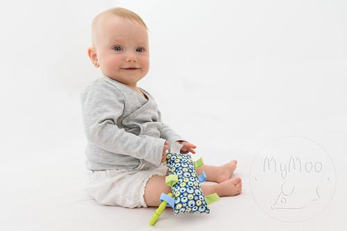 Montessori úchopový polštářek -  bublinky