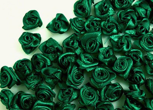 RŮŽIČKY tmavě zelené
