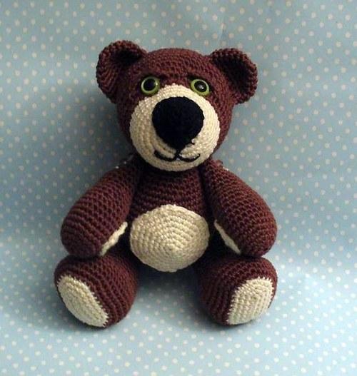 Hačkovaný medvedík