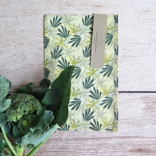 Zelené listy (svačinový sáček)