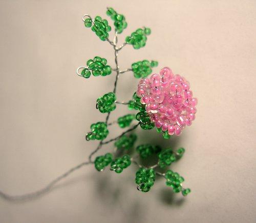Návod na korálkovou růži vícelistou