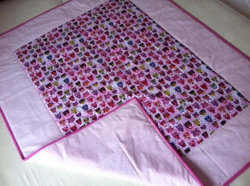 Veselá sovičková detská deka