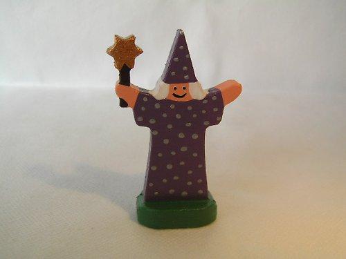Čarodejník s kúzelnou paličkou