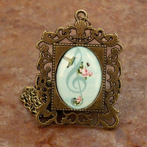 Houslový klíč III. (náhrdelník)