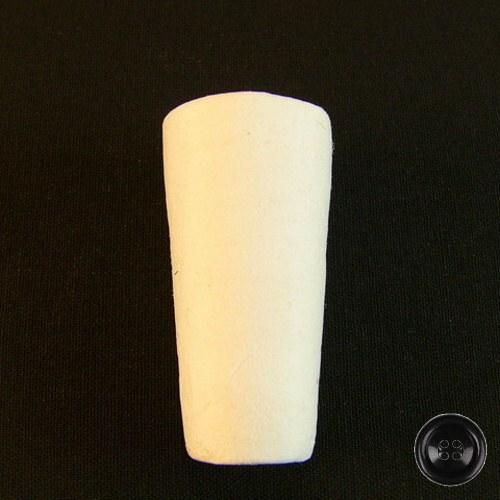 Vatová zátka; pr.19-27mm; d.54mm (5ks) - bílá
