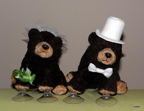 Svatební medvědi baribalové