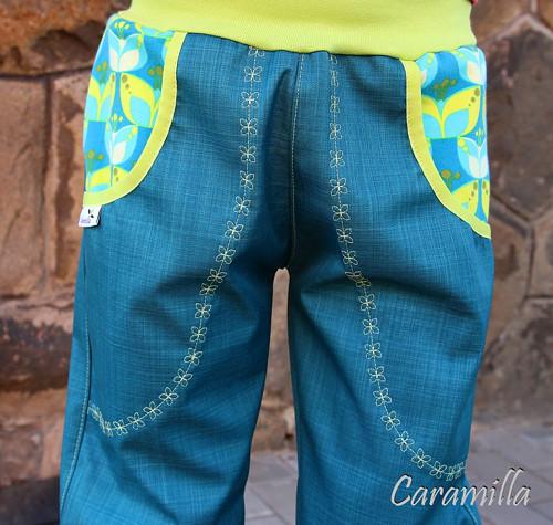 Letní softshellové kalhoty Elegance IHNED 110-122
