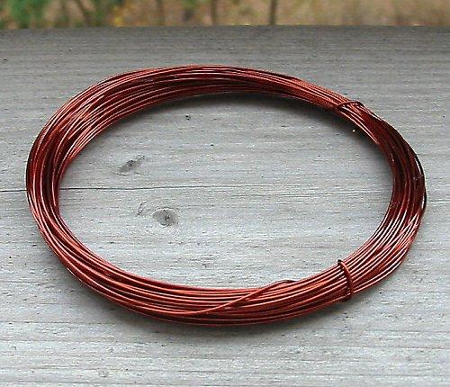 Lakovaný měděný drát hnědý 0,5 - 10 metrů