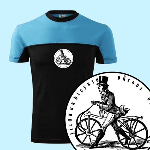 Cyklista    (pánské tričko L)